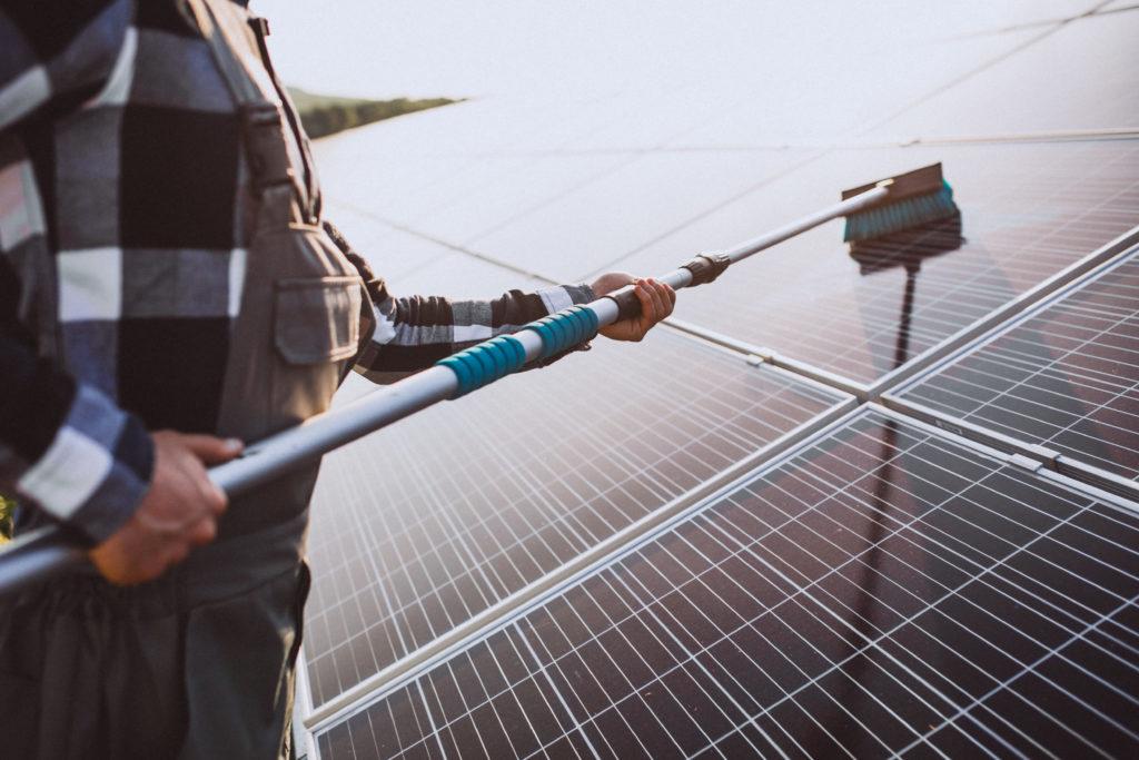 Diagnostic panneaux solaires