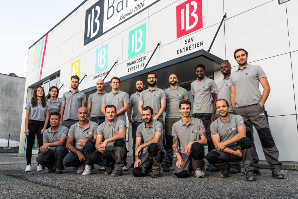 L'équipe Barthe